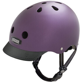 Nutcase Street Fietshelm Kinderen, passion purple pearl metallic